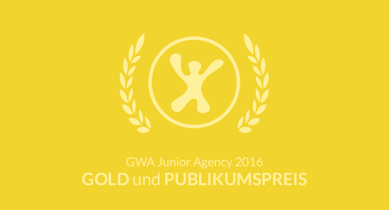 GWA junior Agency Award 2016